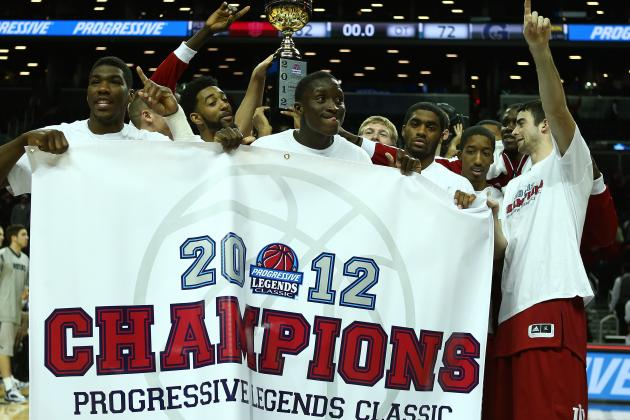 Indiana Basketball: Report Card for Hoosiers at the 2012 Legends Classic