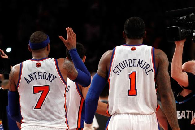 5 Reasons Why Amar'e Stoudemire-Carmelo Anthony Pairing Will Never Work