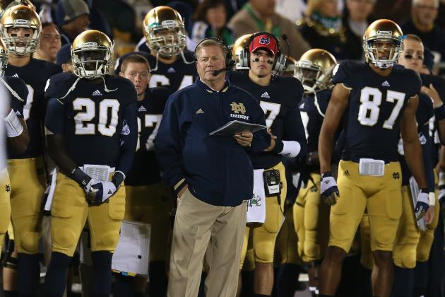 Brian Kelly's 3rd Year: How He Stacks Up Against the Notre Dame Greats