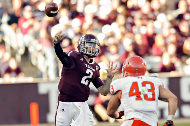 Johnny Manziel and College Football's 25 Biggest Surprise Stars of 2012