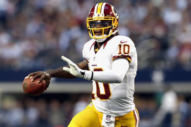 Grading Robert Griffin III's Performance in Washington's 38-31 Win over Dallas