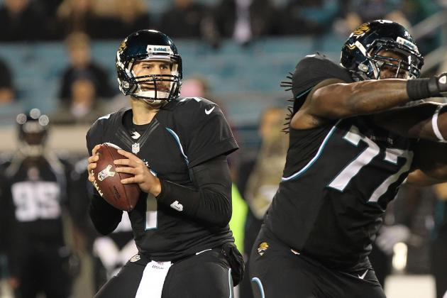 Quarterback Options for the Jacksonville Jaguars in 2013