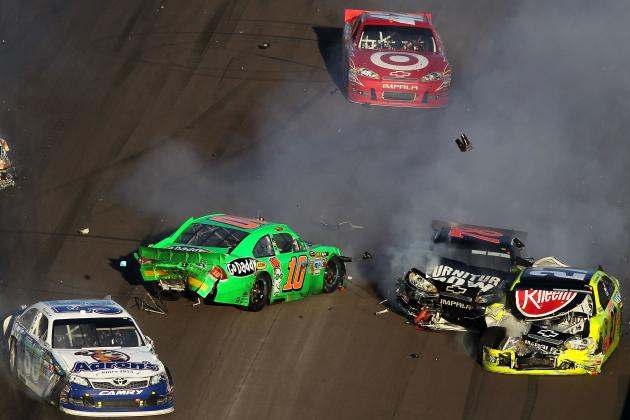 NASCAR Sprint Cup: The 10 Biggest Crashes of the 2012 Season