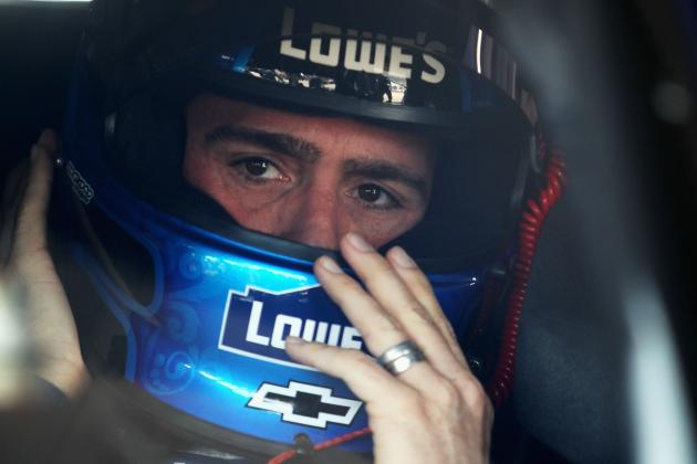 4 Reasons Jimmie Johnson Just Couldn't Get It Done in 2012 Sprint Cup Chase