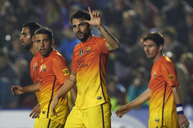 6 Things We Learned from Barcelona's Win Over Levante