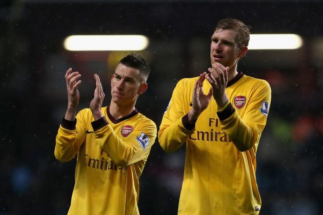Arsenal Winter Transfer News: Klaas-Jan Huntelaar, Wilfried Zaha and Edin Dzeko