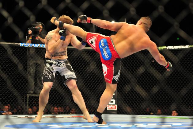 5 UFC Fighters with Wicked Kick Knockouts