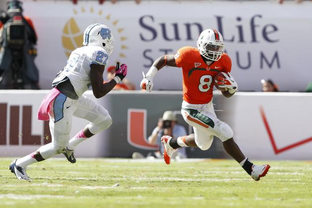 Miami Football: Grading the Hurricanes' 2012 Season