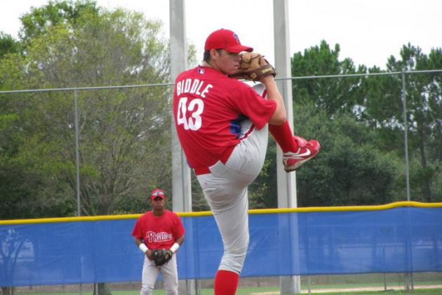 Ranking the Top 10 Prospects in the Philadelphia Phillies' Farm System