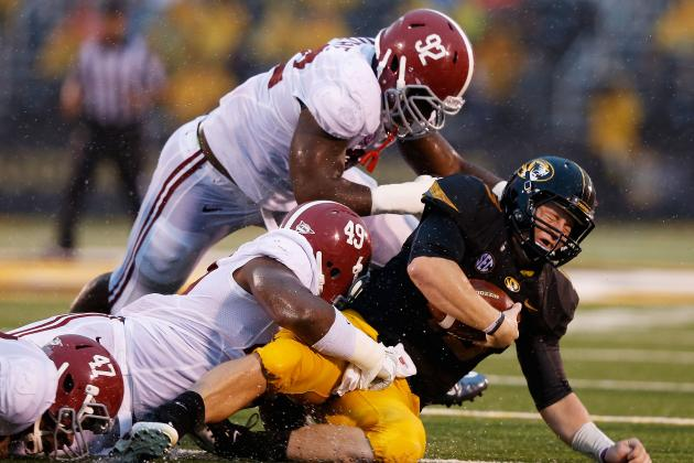 Alabama Football: 3 Reasons Why Aaron Murray Has No Shot Against the Tide
