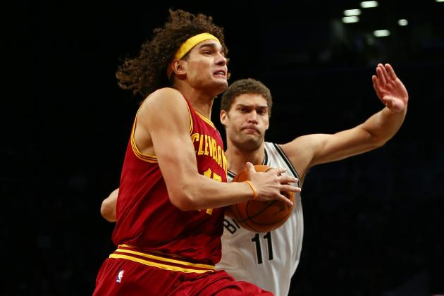 Ranking New-and-Improved Anderson Varejao with NBA's Best Centers