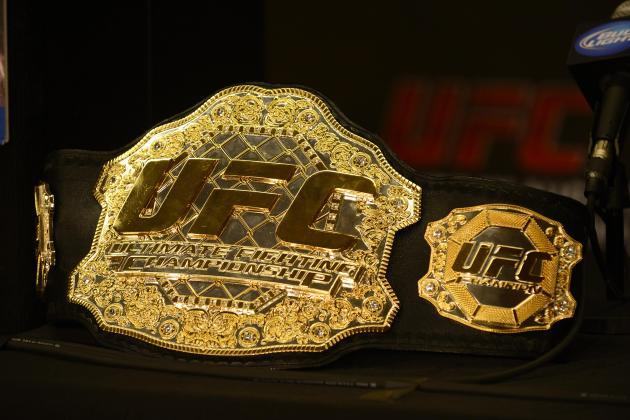 Odds of Each UFC Title Changing Hands in the Next 12 Months
