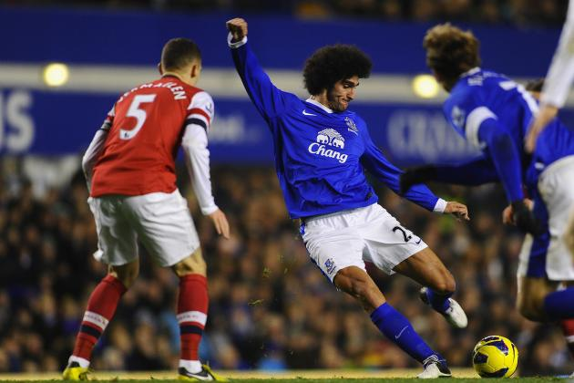 Six Things Learned in Everton's 1-1 Draw with Arsenal