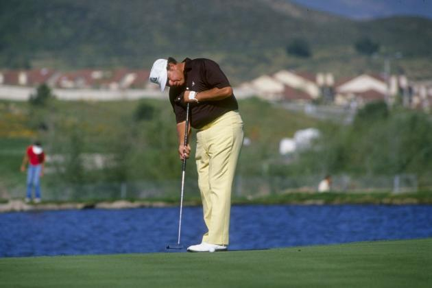 Ranking the 10 Golfers Who Will Suffer Most from Ban Anchoring Putters