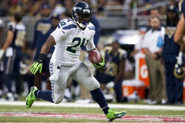Fantasy Football: Marshawn Lynch Leads 'Start-or-Sit Battles' for Week 13