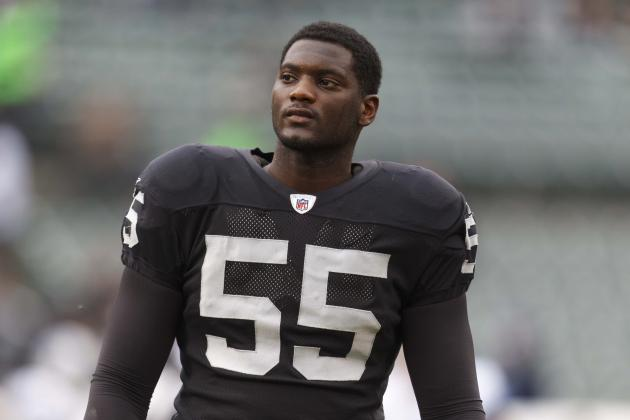 Rolando McClain: Ranking the Best Fits for Disgruntled Raiders LB
