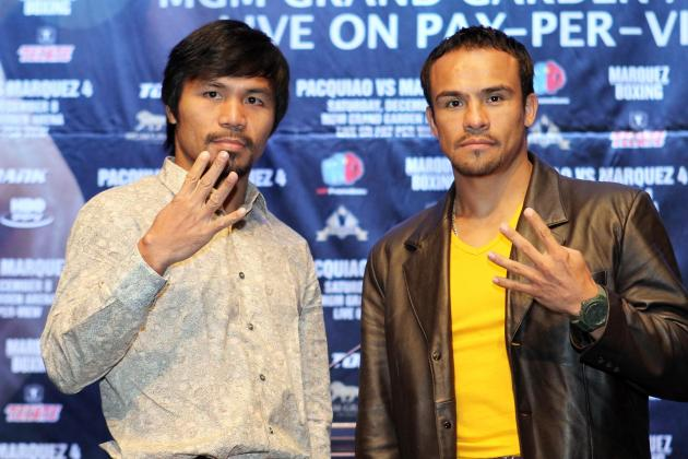 Pacquiao vs. Marquez: Fight Card Odds, Predictions, Records and Previews