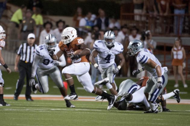 Texas Football: 5 Keys to the Game vs. Kansas State