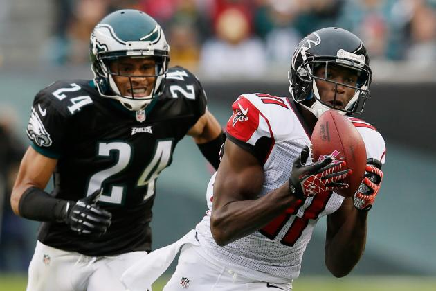 Julio Jones: Breaking Down the Falcons WR's Remaining Fantasy Matchups