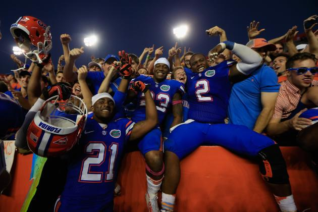 Florida Football: The Most Memorable Moment from Each Gators' Game in 2012