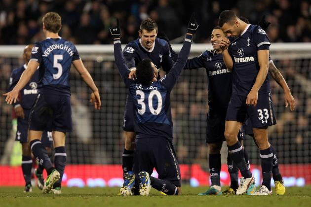 Fulham vs. Tottenham: Player Ratings from Spurs' 3-0 Win at Craven Cottage