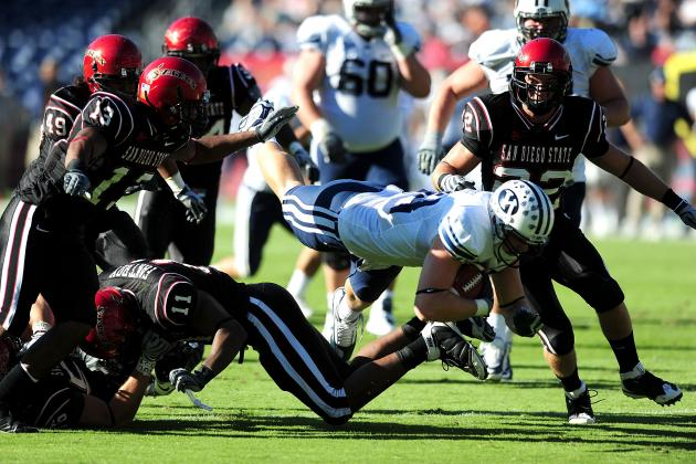 Poinsettia Bowl 2012: BYU vs. San Diego State TV Info, Predictions and More