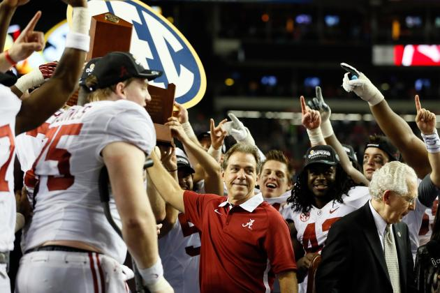 SEC Championship 2012: 10 Things We Learned from Alabama's Win vs. Georgia