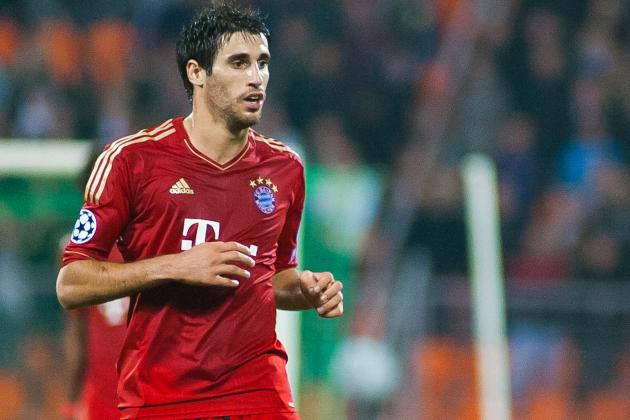 Javi Martinez Features in Bundesliga Team of the Week