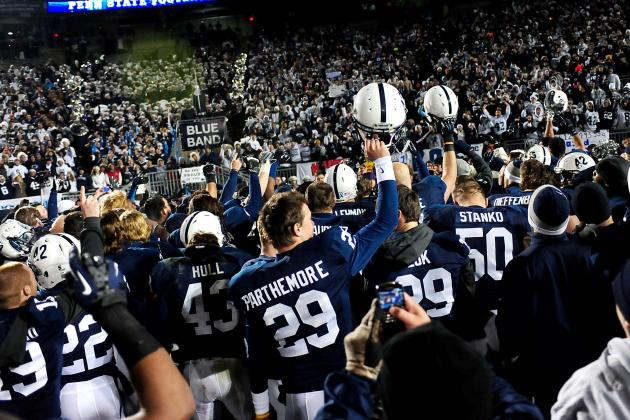Penn State Football: 5 Defining Moments from the 2012 Season