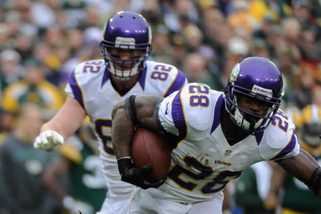 Adrian Peterson's Ranking Among NFL's Top 10 Running Backs Ever