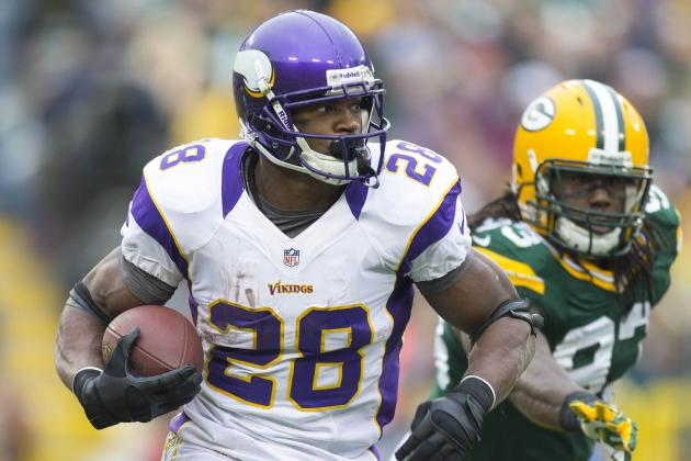 Adrian Peterson and 6 Other NFL Players Most Likely to Star in an Action Film