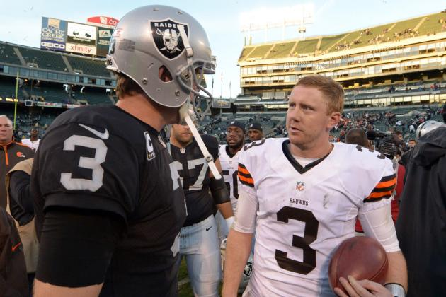 Oakland Raiders vs. Cleveland Browns: Raiders' Winners and Losers from Week 13