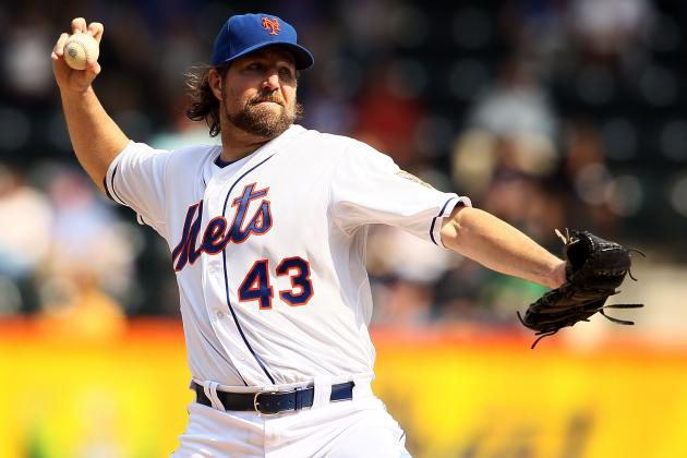 R.A. Dickey: 5 Teams That Must Try to Trade for Cy Young Winner This Offseason