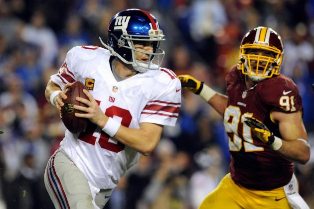 Giants vs. Redskins: Final Player Grades for New York