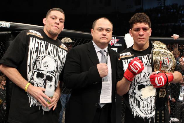 Nate and Nick Diaz: 10 Most Controversial Moments from the UFC's Diaz Brothers