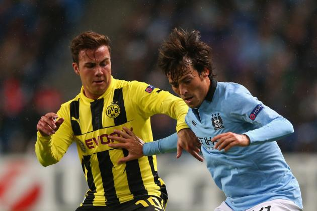 Borussia Dortmund vs. Manchester City: Preview, Team News, Projected Lineups