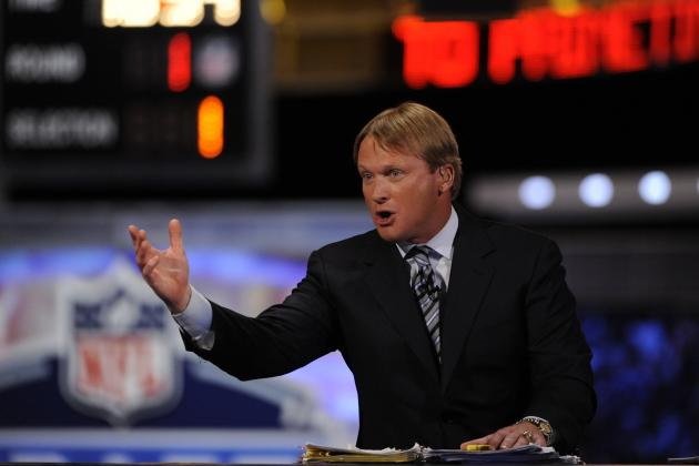 5 People We'd Rather See in the Monday Night Football Booth Than Jon Gruden
