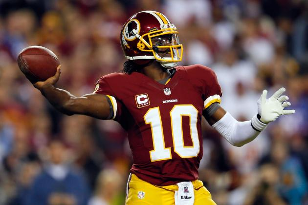 Robert Griffin III and the 5 Most Entertaining Players in the NFL