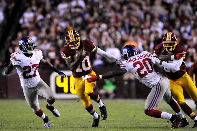 Giants vs. Redskins: Washington's Biggest Winners and Losers from Week 13