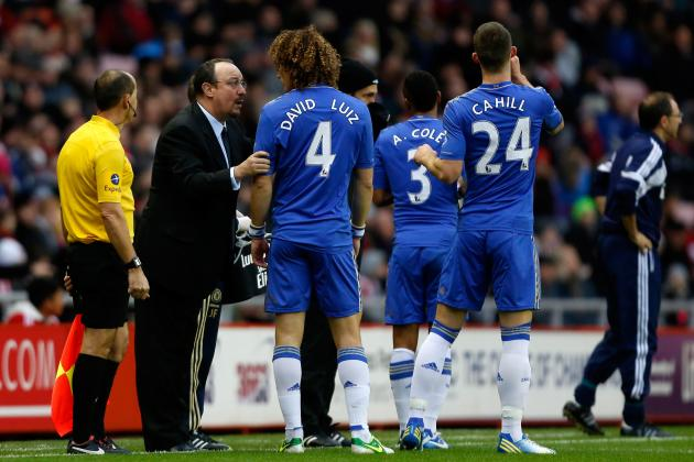 Rating Rafa Benitez's Chelsea Players Against Sunderland