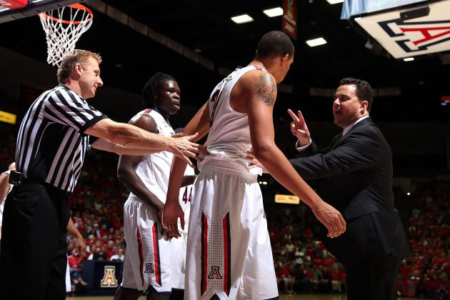 Arizona Basketball: The 5 Biggest Weaknesses on the Wildcats