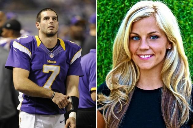 Christian Ponder Engaged to Samantha Steele: 10 Reasons He's a Lucky Man