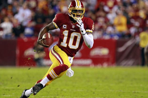 Redskins Rookie Robert Griffin III Scores a Perfect 10 in NFL Combine QB Tests