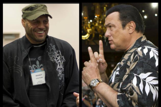 Randy Couture vs. Steven Seagal: Head-to-Toe Breakdown