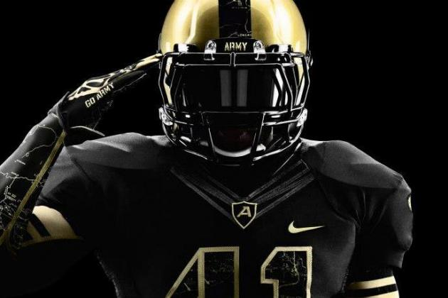 Grading Nike's New Uniforms for the 2012 Army-Navy Showdown