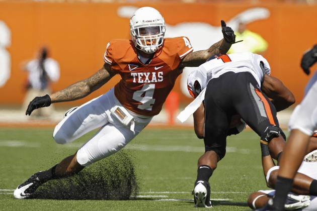 Texas Football: 3 Longhorns Make All-Big 12 Teams