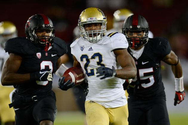 UCLA Football 2012: Top 10 Plays from the Bruins' Regular Season