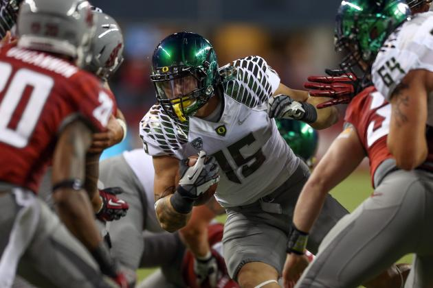 Oregon Football: 6 Ducks That Were Disappointments in 2012