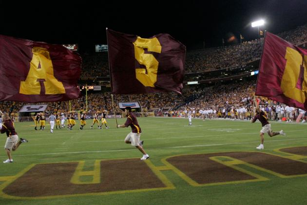 Arizona State Football: Power Ranking the Sun Devils' Top Performances of 2012
