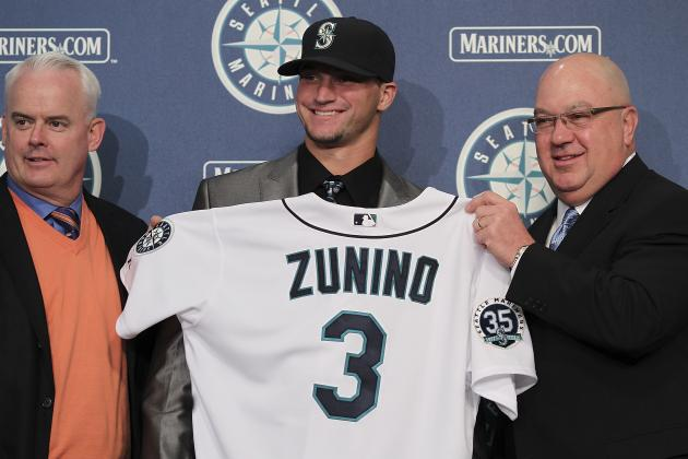 Ranking the Top 10 Prospects in the Seattle Mariners' Farm System